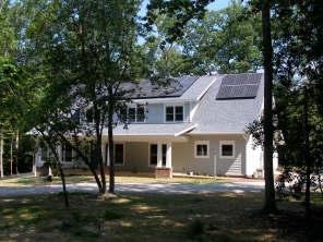 Franck net-zero Solar Home, Williamsburg, VA