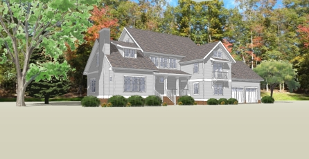 Proposed Phillips Leach Residence